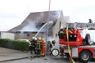 Garagebrand Vichteknokstraat