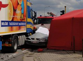 Tielt: Twee doden bij zware klap