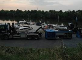 Beernem : Mazoutspoor legt scheepsvaartverkeer eventjes stil