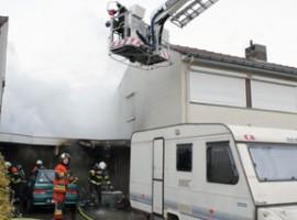 Beveren-Leie: Woning tijdelijk onbewoonbaar door brand