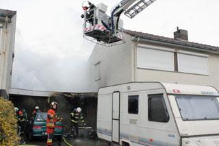 Woning tijdelijk onbewoonbaar door brand