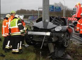Aalbeke: Nederlandse bestuurder overleden bij ongeval op E17