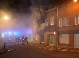 Wevelgem: Woning onbewoonbaar na brand