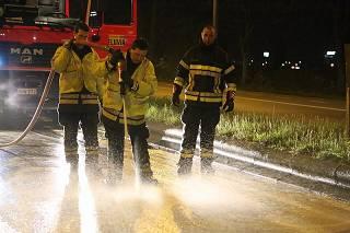 Smurrie op rijweg zorgt voor gevaarlijke situatie