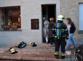 Roeselare: Ontploffing veroorzaakt brand in woning