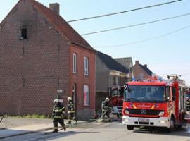 Dentergem: 6 gewonden bij woningbrand