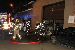 Brand in schuur ter hoogte van de kweekstraat