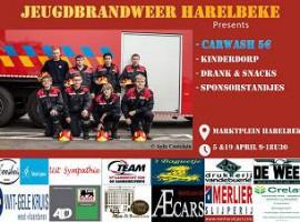 Harelbeke/Kuurne: Jeugdbrandweer organiseert autowas om kas te spijzen
