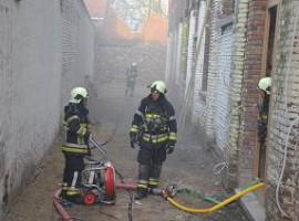 Kortrijk: Brand in kelder toekomstig vlasmuseum