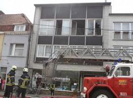 Kortrijk: TV inplosie zorgt voor brand in appartement