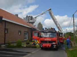 Zwevezele: Huis onbewoonbaar na brand