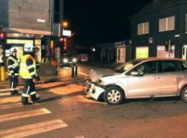 Deerlijk: Twee gewonden bij ongeval