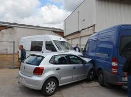 Roeselare: ongeval op parking