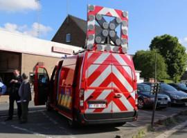 Waregem: Nieuwe brandweervoertuigen in Waregem officieel in gebruik.