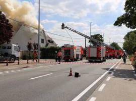 Desselgem:Uitslaande brand in nachtclub