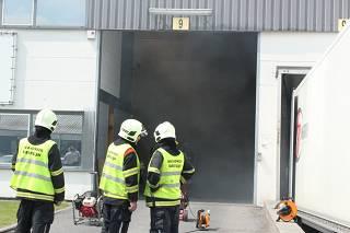 Printer zorgt voor brand in het bedrijf FB Logistics