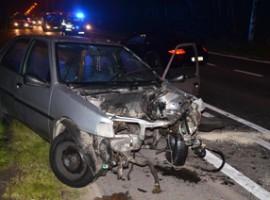 Kuurne: Vier gewonden bij ongeval op Brugsesteenweg