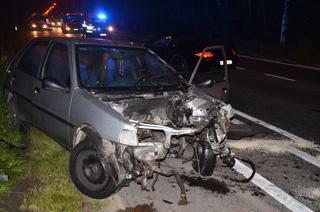 Vier gewonden bij ongeval op Brugsesteenweg in Kuurne