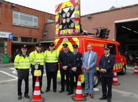 Anzegem: Nieuwe voertuigen voor de brandweer