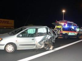 Deerlijk: Twee gewonden bij zwaar verkeersongeval op E17