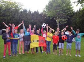 Kuurne: Dertien leerlingen van gemeentelijke Pienterschool kamperen in schooltuin