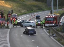 Bissegem: zwaar verkeersongeval op R8