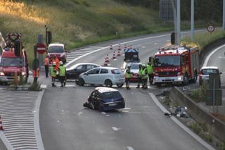 zwaar verkeersongeval op R8 in Bissegem
