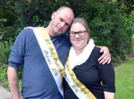 Kuurne: Lavrans Bruneel en Sofie Vanderbeken Poorter en Poorteres 2014