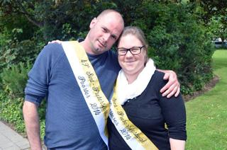 Lavrans Bruneel en Sofie Vanderbeken Poorter en Poorteres 2014