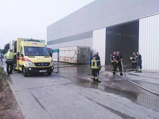 Brand bij Bardoel spoedig bedwongen