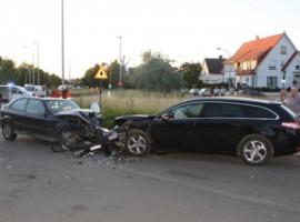 Kortrijk: Drie gewonden bij frontale klap in condedreef