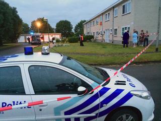 Alweer brand in zelfde appartementsblok in Zwevegem