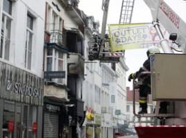 Kortrijk, uitslaande brand met 2 doden