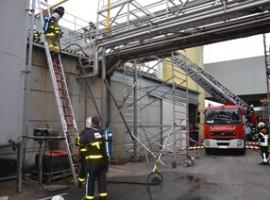 Bavikhove: Brandje in diepvriesbedrijf Agristo