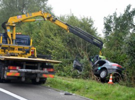 Deerlijk: Dodelijk ongeval op n36 rijksweg