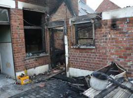 Moorslede: Vergeten frietuurpan zorgt voor brand