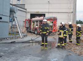 Harelbeke: Stofafzuigingsinstallatie vat vuur bij Albox