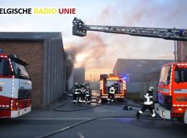 Waregem: zware brand in weverij