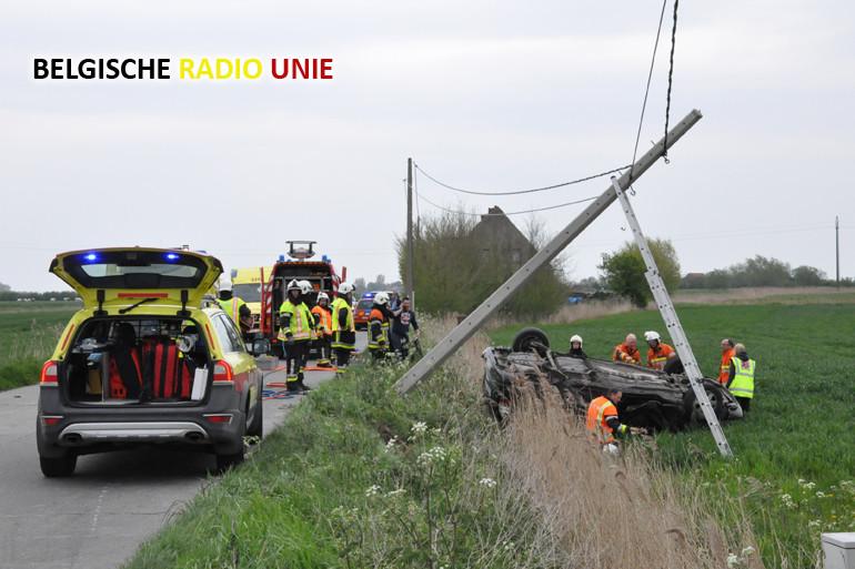 Zwaar verkeersongeval eist 4 gewonden
