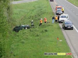 Vier gewonden bij ongeval op A19