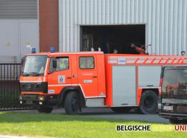Brandweer rukt uit naar biokrachtcentrale A&S Energie