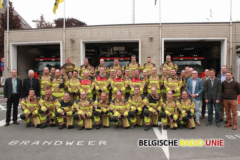 nieuwe interventiekledij voor brandweer Zwevegem