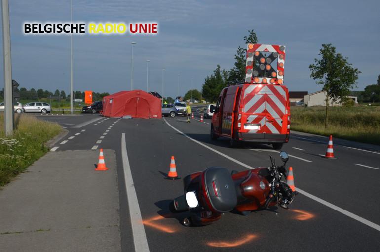 25062015 - dodelijk vko lichtervelde motorrijder