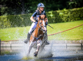 Eventing L'equino palmt dit weekend kasteelpark van baron Casier in