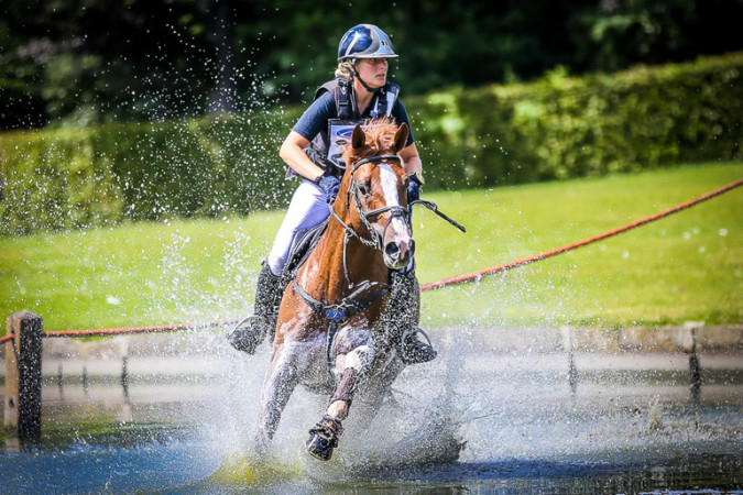 Eventing L'equino palmt dit weekend kasteelpark van baron Casier in