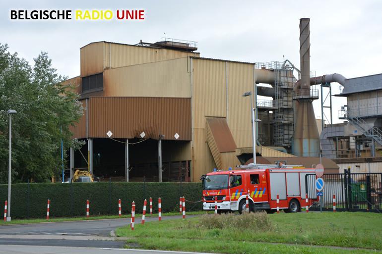Brand bij Picanol in Ieper snel onder controle