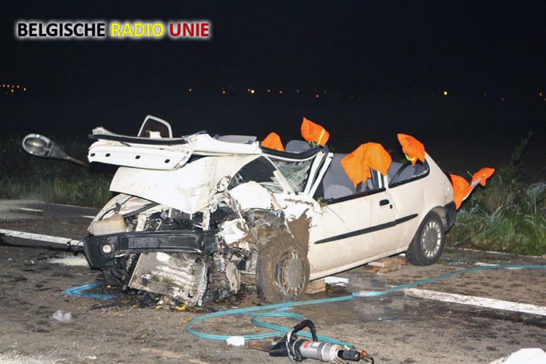Man zwaargewond bij verkeersongeval in Zwevegem