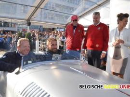 Matthias Schoenaerts, Gert Verhulst  en ex judoca Gella Vandecaveye zijn de publiekstrekkers op zesde Zoute Grand Prix