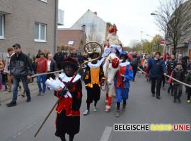 De Sint maakt blijde intrede in Ezelgem