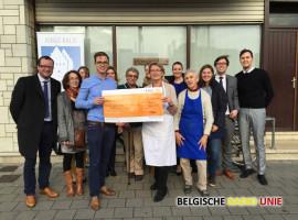 Advocaten steken een handje toe bij Poverello in Kortrijk